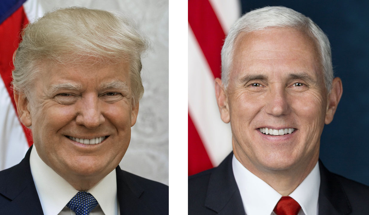 Donald Trump & Mike Pence